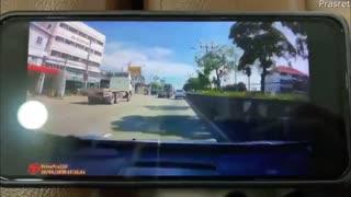 Lane Change Causes Crash