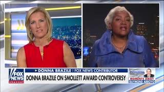 Donna Brazile defends Jussie Smollett