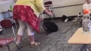 Teacher Has UNHINGED Breakdown On Vaccinated Student For Not Wearing A Mask