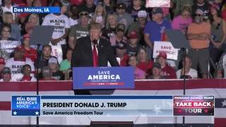 President Trump on the INCOMPETENCE of Biden regarding the Border