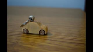 Woodworking: Wooden Car Keychain
