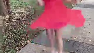 Little Red Dress Dancing Queen