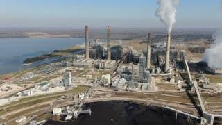 Smithers Lake Coal Power Plant, January 9, 2021