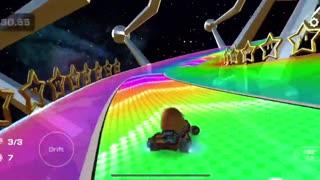 Mario Kart Tour - Clearing Luigi Cup Time Trial Challenge (Mario vs. Luigi Tour)