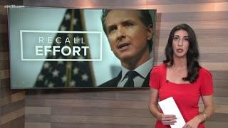 California Recall election candidates talk vaccine mandates