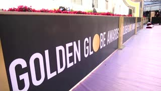 Webcams replace red carpet at The Golden Globes