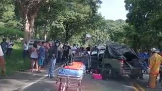 Grave accidente en la vía Socorro - San Gil