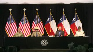 Texas To Build It's Own Border Wall - Governor Greg Abbott