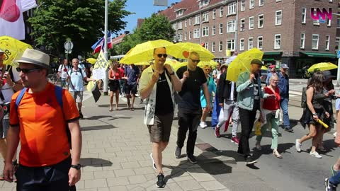 The Walk of Freedom, Amsterdam 13 juni 2021, LNN Media