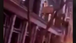 Massive explosion I. Downtown Nashville, TN