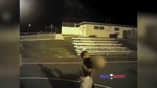 Bodycam Florida Police Officers Joins Kids in Basketball Game