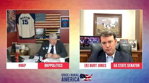 "Burt Jones talks election ""evidence"" and his role in Georgia's future"