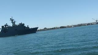 San Diego Bay Battleship