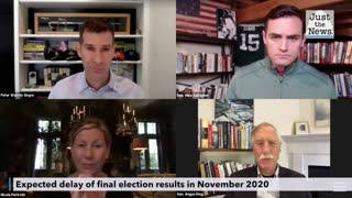 Angus King discusses an expected delay of final election results in November 2020