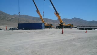 Crane Work - Plant Field Assembly South America 3 of 5