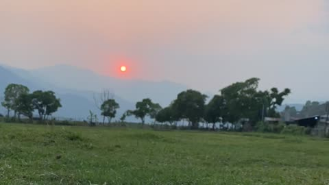 Beautiful Sunset Never seen before