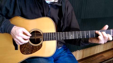 Guitar Lesson 3 - Fingerpicking Freight Train
