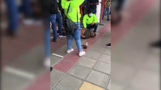 captura de venezolano en centro comercial