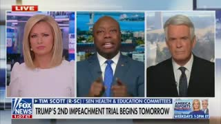 Tim Scott's Reaction To Trump's Impeachment Trial Is A Must Watch