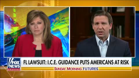 Florida Gov. DeSantis rips Biden's 'reckless' ICE policies
