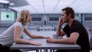 Passengers 2016 Film Best Kissing Scene HOT