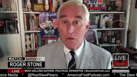 Stew Peters asks Roger Stone Why Trump Continues to Push 'Vaccines'