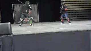 Sword fighting show