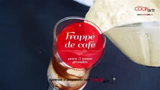Receta Cocinarte: Frappé de café