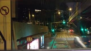 Hongkong road view Bus#112_12_13_from North Point to Mongkok_20210212