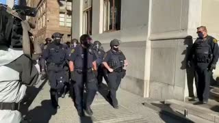 Riot Police Show Up In Pittsburgh!!