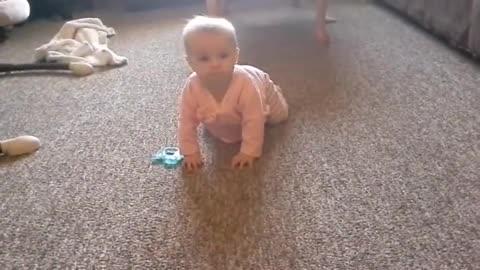 Haley crawling