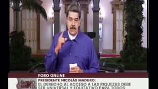 Maduro dice que Ejército colombiano forma a mercenarios para atacar Venezuela