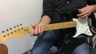 Blues Rhythm Guitar Tutorial - Topanga Canyon Blues - Guitar Lesson / Tutorial