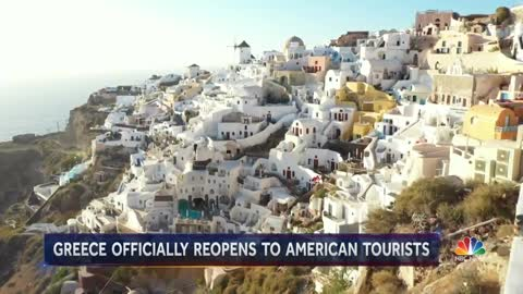 Greece reopens Tourism to American