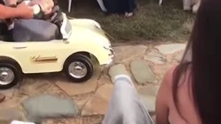 Funny Kids add some comedy to a wedding!