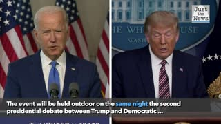 Trump to participate in TV town hall Thursday, night of canceled debate with Biden