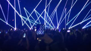 Concert was lit