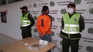Hombre intentó ingresar droga camuflada en una colchoneta a estación de Policía en Bucaramanga