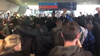 Migrants Rush International Airport and Issue Demands