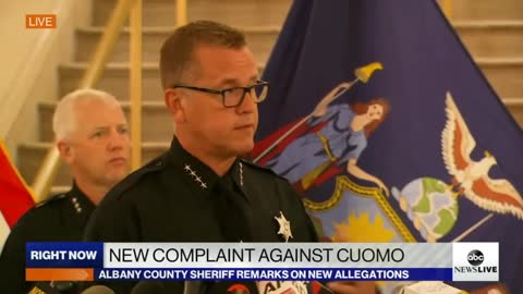 Sheriff Says Yes, Criminal Conduct Complaint Could Lead to Arrest of Gov. Cuomo