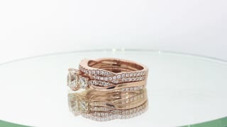 Incredible Engagement Rings & Wedding Bands that Fit Together