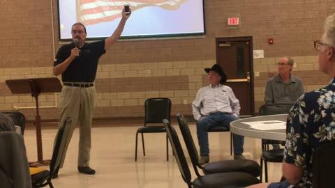 Bruce Whalen Attends South Dakota Citizens for Liberty Candidate Event