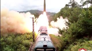 North Korea says it tested 'railway-borne' missiles