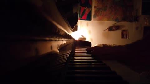 IO NON VIVO SENZA TE - Raffaella Carrà - mini piano-cover