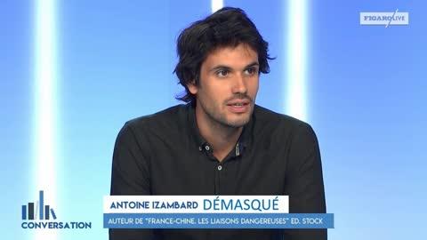 Antoine Izambard démasqué (9/10/2021)