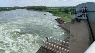 Power of flowing water