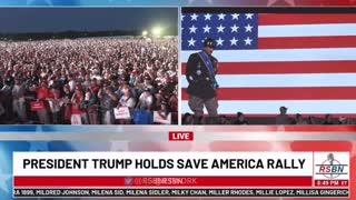 General George S. Patton clip from the Trump rally in Cullman, AL.