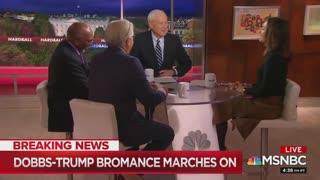 Chris Matthews mocks Lou Dobbs and President Trump