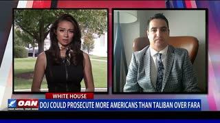 DOJ could prosecute more Americans than Taliban over FARA