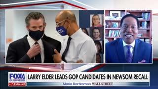 Larry Elder: Latest polls show Gavin Newsom's recall 50:50.